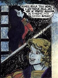 Romeu e Julieta em quadrinhos