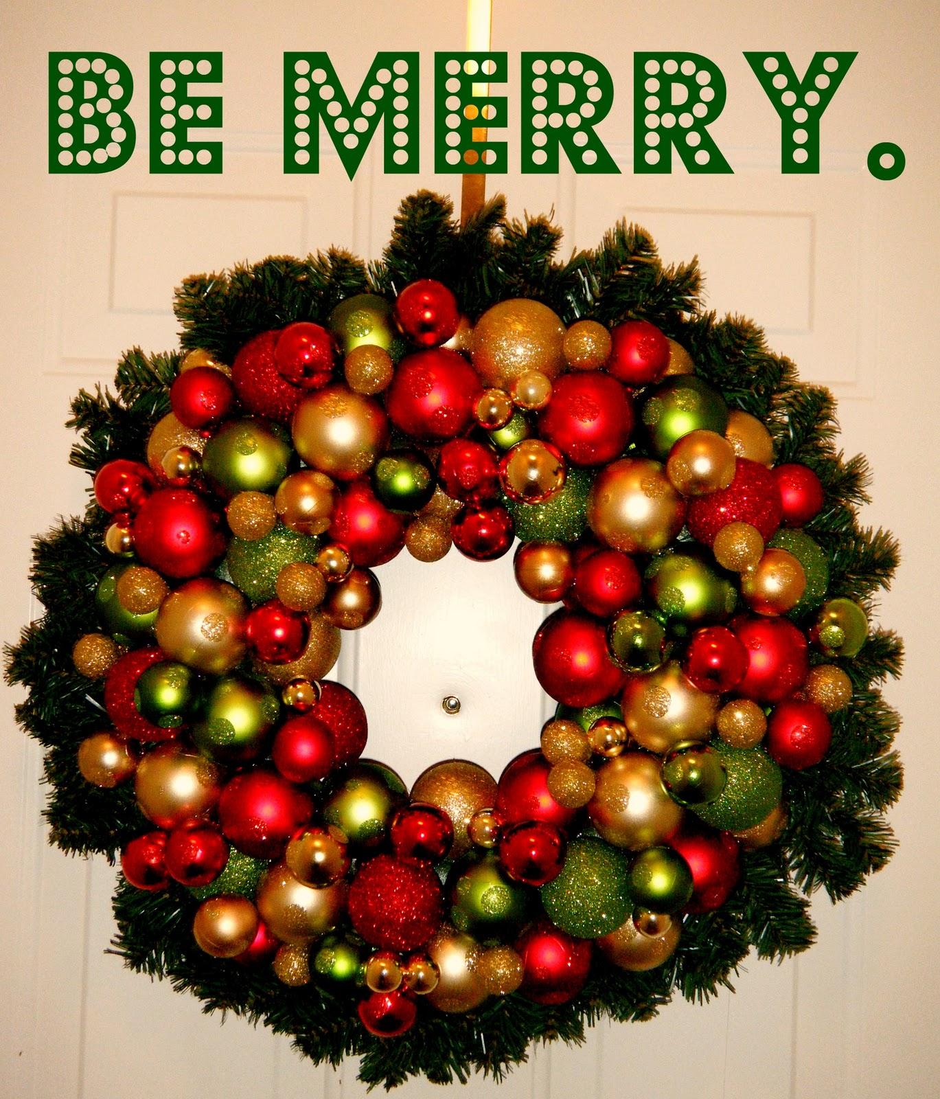 Miss lovie ornament wreath