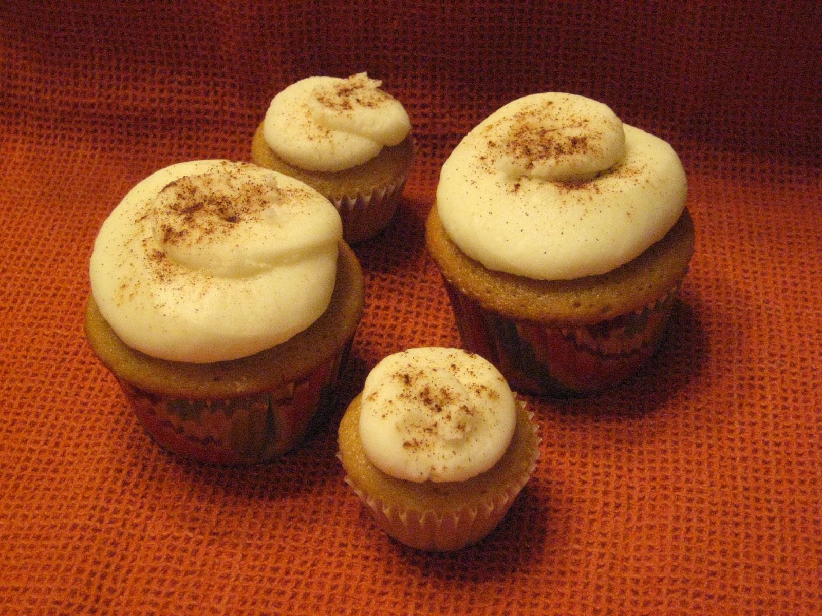 Shaking N Baking: Chai Latte Cupcakes with White Chocolate Buttercream ...