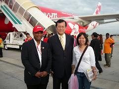 2009年4月2日 亚洲航空北京首航