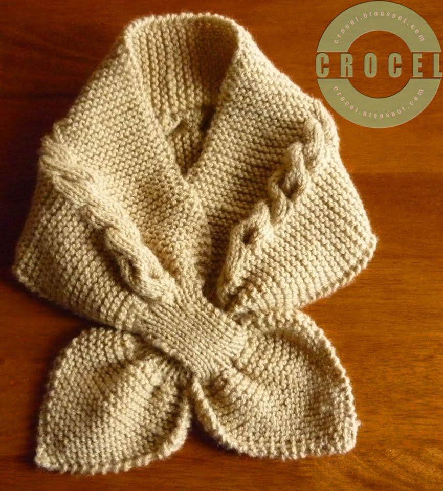 Cuellos De Lana Tejidos a Crochet
