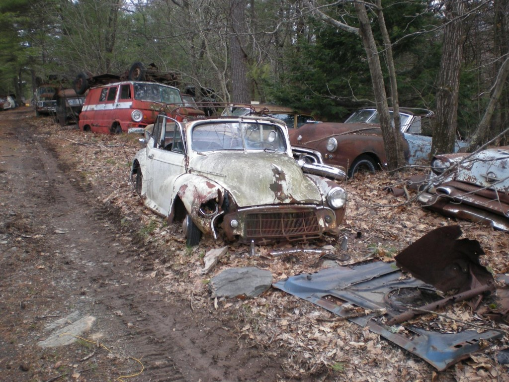 Complete Classic Car Salvage Yard