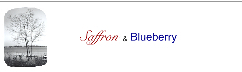 Saffron &amp; Blueberry