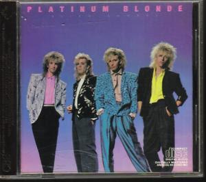 Mega-rare 1985 CD by Canadian high-tech AOR rockers, Platinum Blonde.