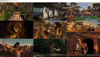 Madagascar 2 (2008) BDRip English Movie Mediafire Links
