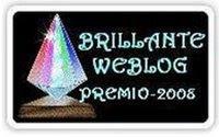 Brillante Weblog - Premio 2008