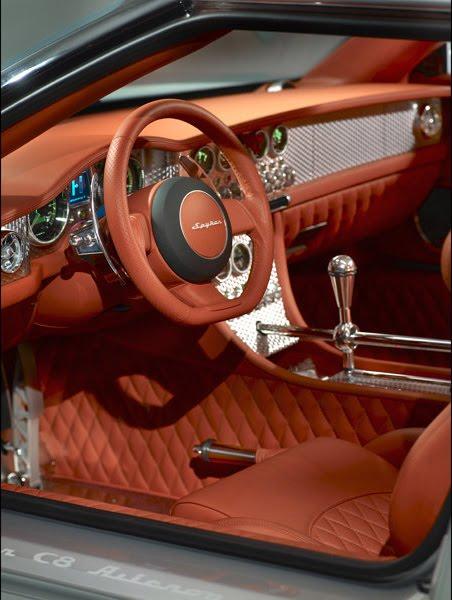 Spyker C12 Zagato 2008 Car Automotive Design