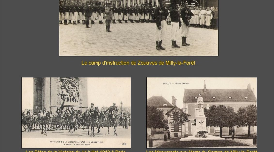 Histoire et actualit de milly la foret exposition hommage aux poilus milly la for t - Office tourisme milly la foret ...