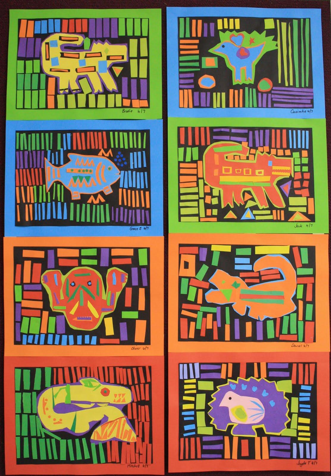Oz kidz artz paper molas year 4 5s 8 11yrs for Craft schools in usa