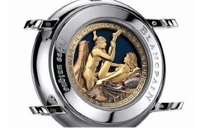 Montre Blancpain montre érotique