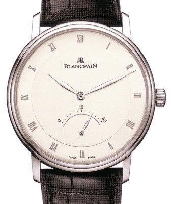 Montre Blancpain &#171; Villeret &#187; seconde rtrograde