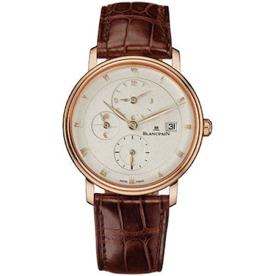 Montre Blancpain &#171; Villeret &#187; Time Zone