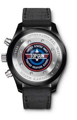 Montre IWC montre d'aviateur Chronographe Top Gun