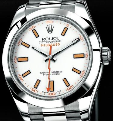 Montre Rolex Oyster Perpetual Milgauss référence 116400