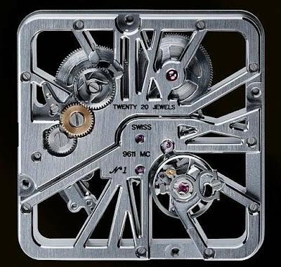 Montre Cartier Haute Horlogerie Santos 100 Squelette
