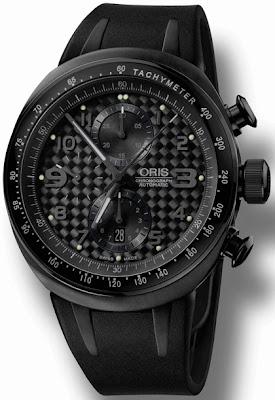 Montre Oris TT3 Full Black Chronograph