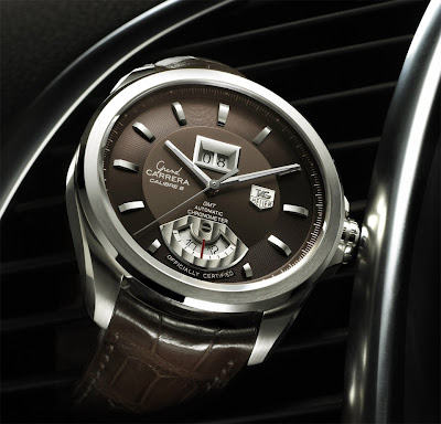 Montre Tag Heuer Grand Carrera Calibre 8 RS Grande-Date GMT