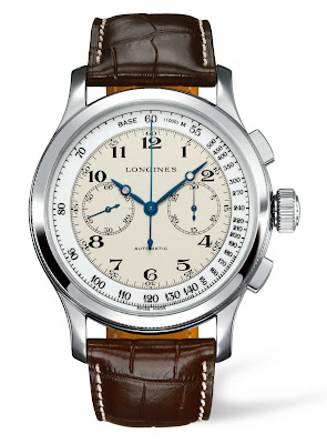 Montre Longines Lindbergh Greenland Flight Chronographe