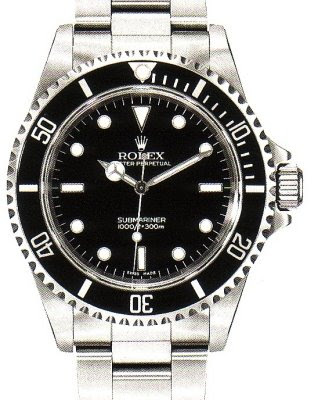 Montre Rolex Submariner 14060M sans date