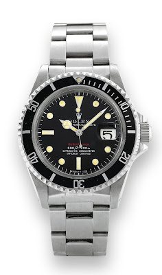 Montre Rolex Submariner 1680 Red