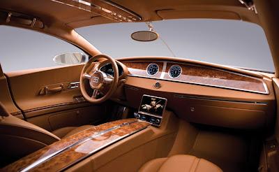 L'intérieur de la Bugatti 16C Galibier