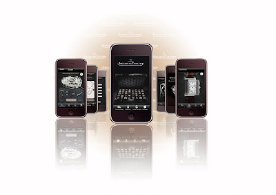 Application iPhone Jaeger-Lecoultre
