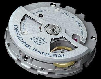 Le calibre P.9000 de Panerai