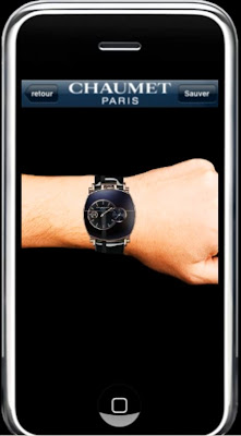 Montre Chaumet Dandy Edition Arty Application iPhone