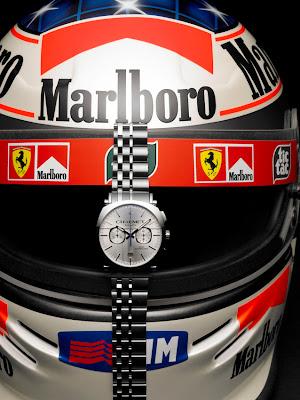 Casque Michael Schumacher Montre Chaumet Dandy Chonographe