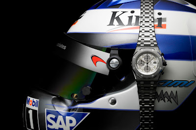 Casque Kimi Raikkonen Montre Audemars Piguet Royal Oak Offshore