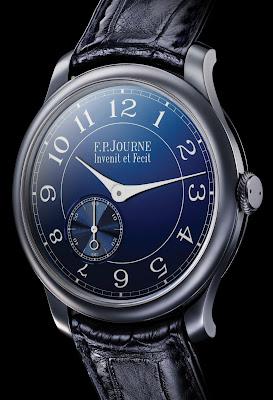 Montre F.P. Journe Chronomètre Bleu