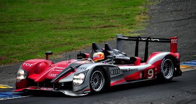 Audi R15 - Victoire 24H du Mans 2010 - Audi Sport North America n°9 Tag Heuer