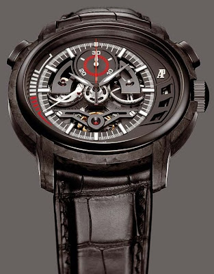 Montre Audemars Piguet Millenary Carbon One Tourbillon Chronographe référence 26152AU.OO.D002CR.01