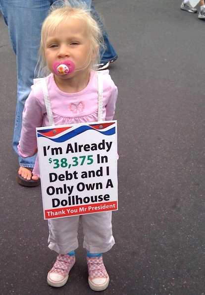 US CHILDREN IN DEBT 