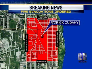 Freedom Eden Patrick Cudahy Fire Evacuation Area