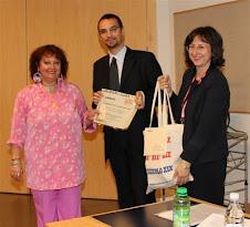 """Premiazione della collaborazione a """"Il quotidiano in classe"""", 28-5-2010"""