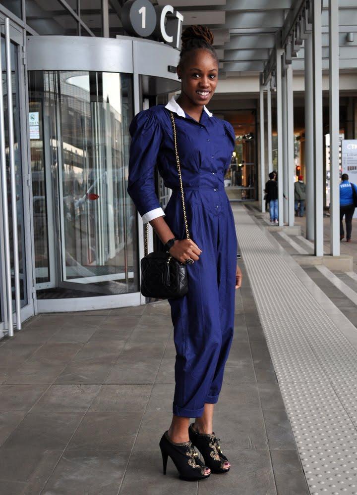 Cinder Skylark South African Street Style Fashion Cape Town Fashion Week 2010