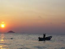 Kalpazankaya'da balıkçı