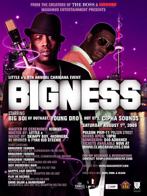 bigness+jam Caribana Essentials: PARTY TIME!!