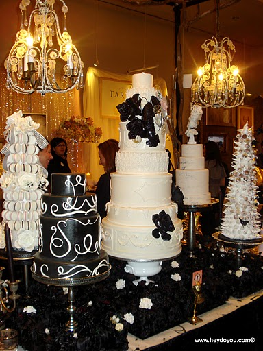 AMAZING cake display by Cake