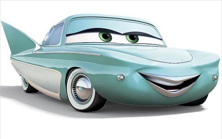 Cars  Personnages Flo
