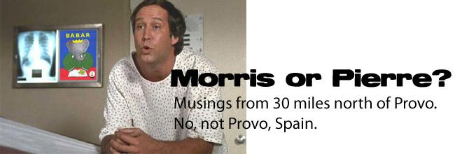 Morris or Pierre?