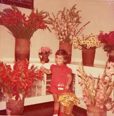 e de flores...