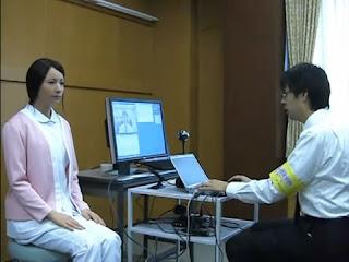 robot japonés asombrosamente realista
