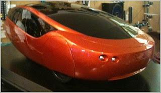 Urbee vehículo híbrido prototipo fabricado con impresión 3d