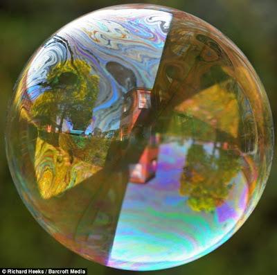 super slow motion picture bubble 1