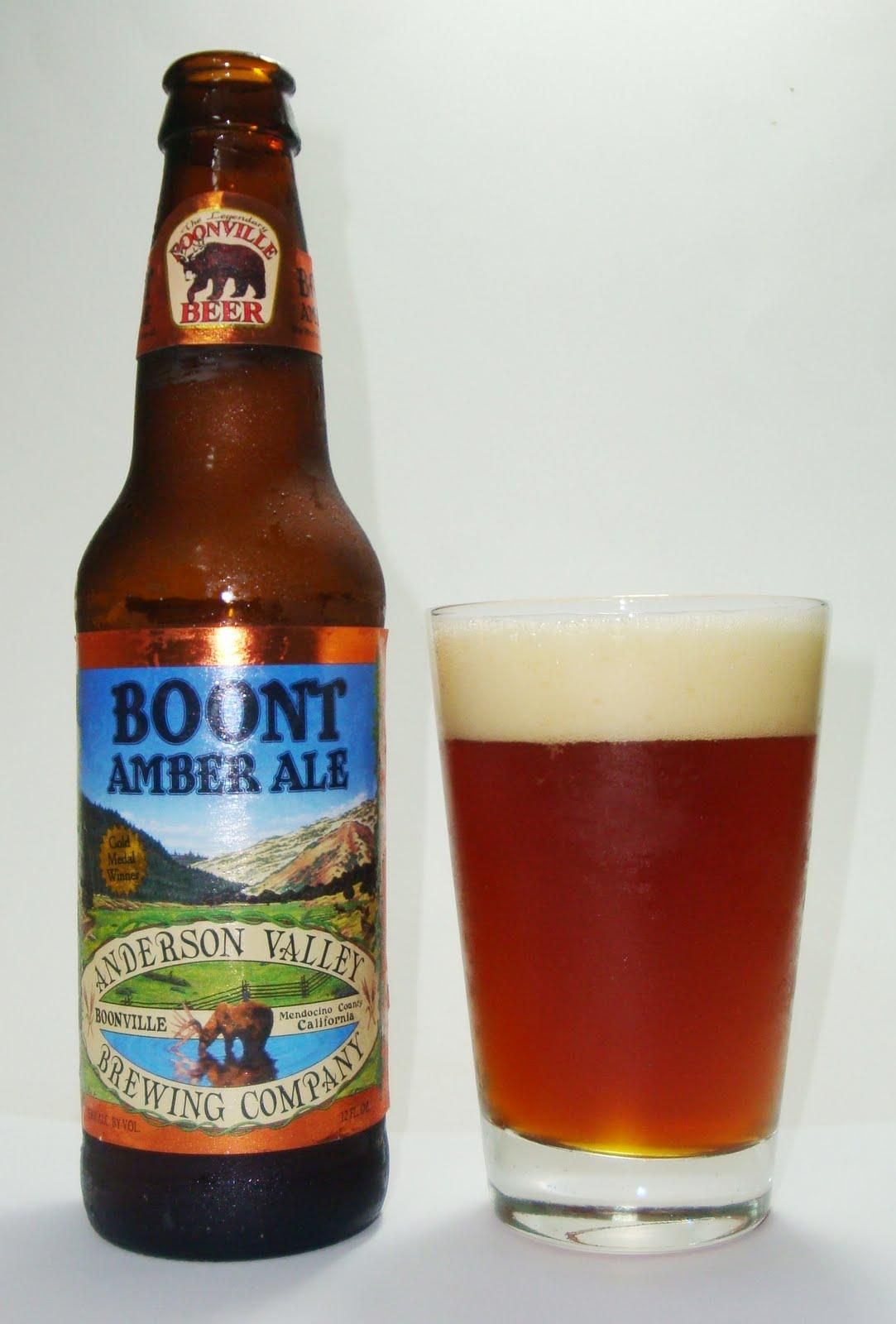 Boont Amber Ale - American Amber/Red Ale, 5.8%ABV, garrafa 355ml.