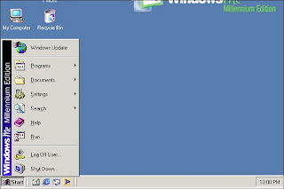Windows ME screenshot (Microsoft)