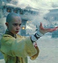 Foto Aang di Film 'The Last Airbender'