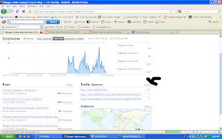 Cara Melihat Statistik Blogspot, Fitur Statistik